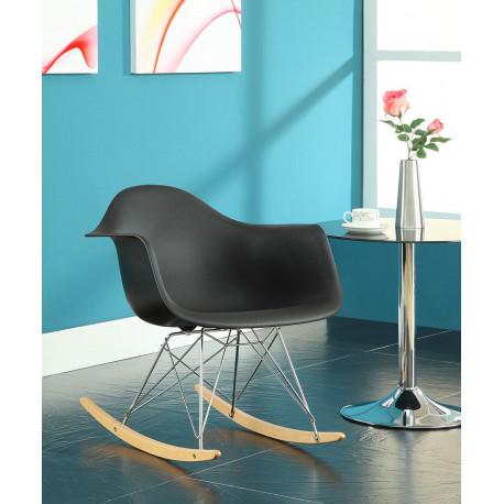 Кресло качалка из пластика