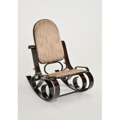 Кресло качалка деревянная